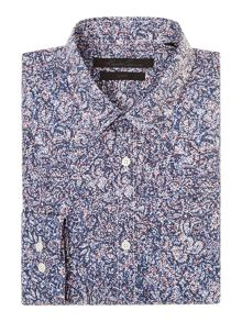 Kenneth Cole Burvon Static Print Shirt