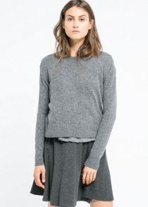 Alpaca wool-blend sweater