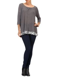 Phase Eight Nya sequin knit jumper