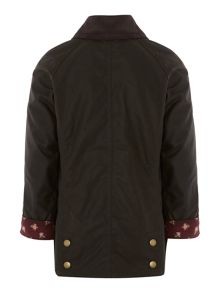 Girls wax beadnell jacket
