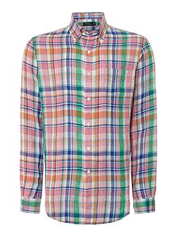 Men's Polo Ralph Lauren Classic Long Sleeve Check