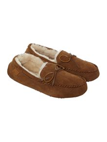 Just Sheepskin Torrington moccasin slipper