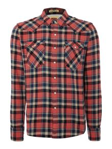 Barstow check western shirt