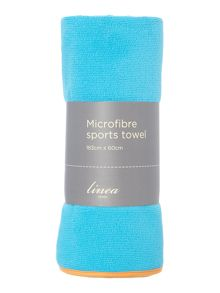 Linea Blue sports towel