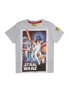 Fabric Flavours Boys Short Sleeve Darth Vader T-Shirt