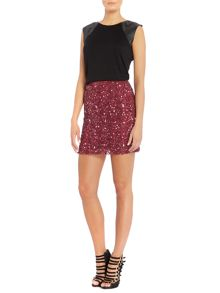 Rock and Religion Mini skirt