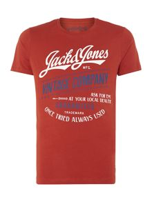 Mens Short sleeve JJ always tee