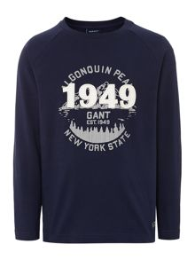 Boys long sleeved 1949 print