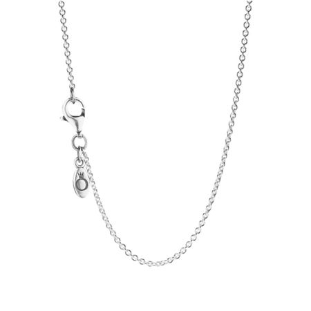 Pandora 90cm Silver Collier Necklace