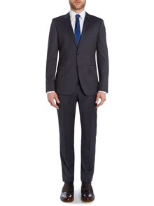 Rebel Steel Slim Fit Pinstripe Two-Piece Suit