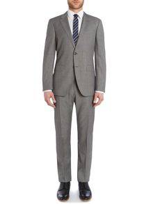 Norman Will Regular Fit Grid Check Suit