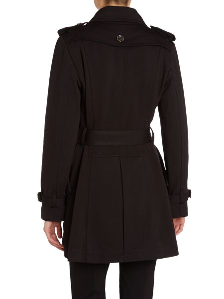 Vince Camuto Trench fit and flare soft shell coat
