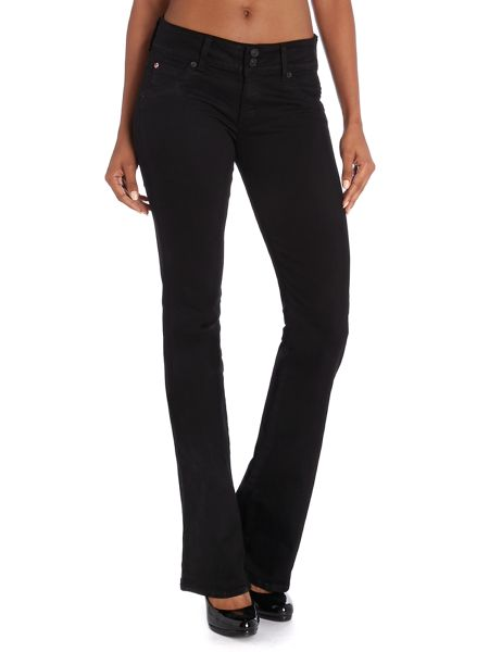 Hudson Jeans Signature bootcut jeans in Black