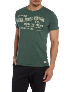 Mens copenhagen slogan t-shirt