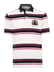 Howick Hursley Stripe Short Sleeve Rugby