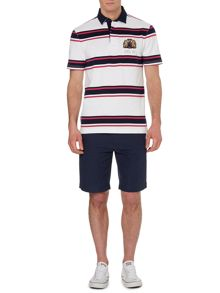 Hursley Stripe Short Sleeve Rugby
