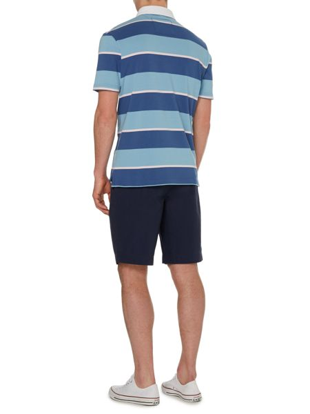 Howick Powell stripe short sleeve rugby