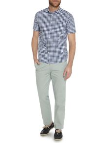 New hampton gingham short sleeve shirt