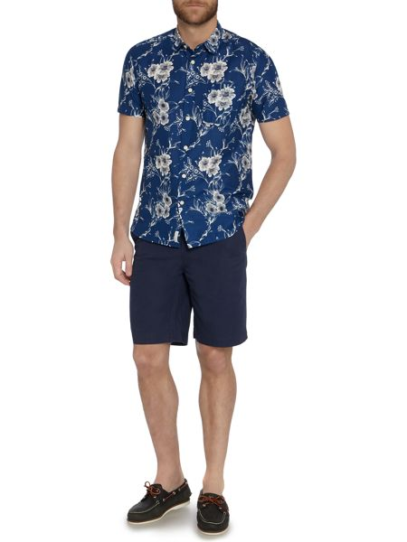 Howick Columbus printed short sleeve shirt