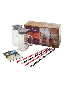 9 Piece Mug & Straw Set
