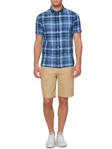 Lawton Short Sleeve Checked Shirt