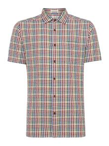 Kansas Short Sleeve Checked Shirt