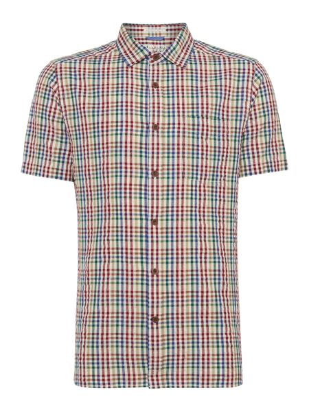 Howick Kansas Short Sleeve Checked Shirt
