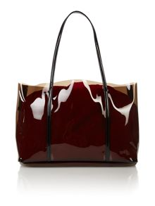 Perspex jelly beach bag
