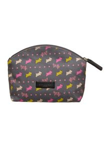 Dog and spot grey small cosmetic bag