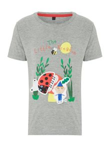 Boys Ben & Holly removable sticker t-shirt
