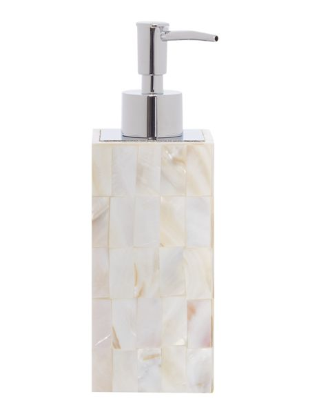 Casa Couture Mother Of Pearl Soap Dispenser