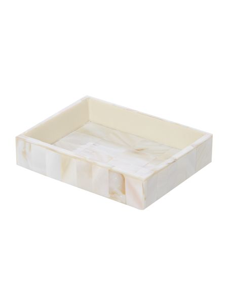 Casa Couture Mother of pearl soap dish