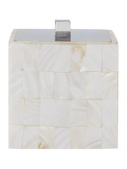 Mother of Pearl Cotton Jar