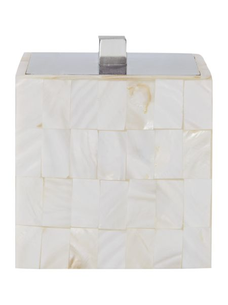 Casa Couture Mother of Pearl Cotton Jar