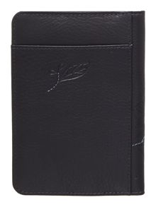Laurel leaf navy pasport cover