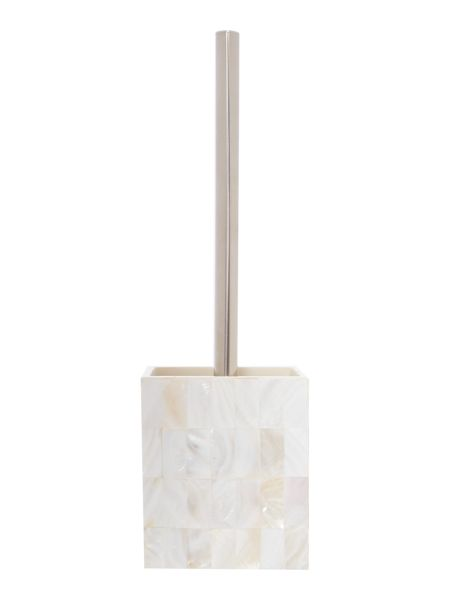 Casa Couture Mother of Pearl Toilet Brush