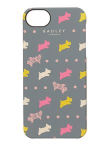 Dog and spot grey iphone case