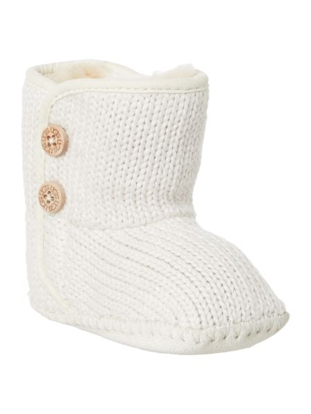 UGG Knitted bootie with button