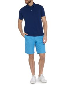 Canyon pique short sleeve polo
