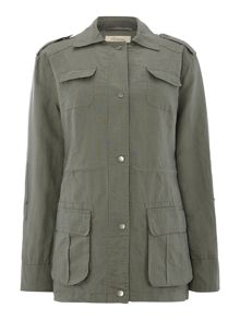 Black sands utility jacket