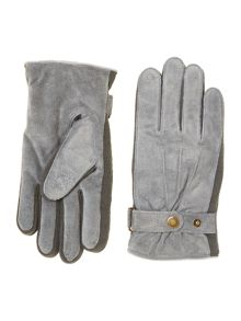 Dents men`s casual suede glove