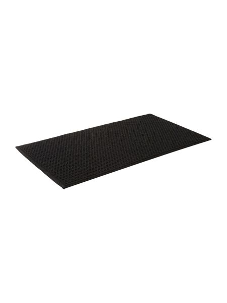 Linea Reversible Bobble Bath Mat in Black