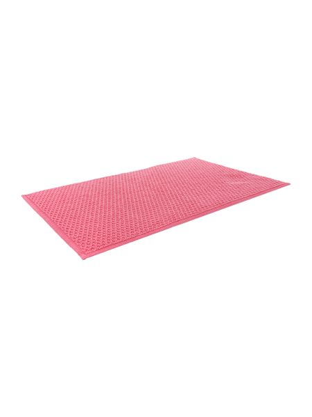 Linea Reversible Bobble Bath Mat in Hot Pink