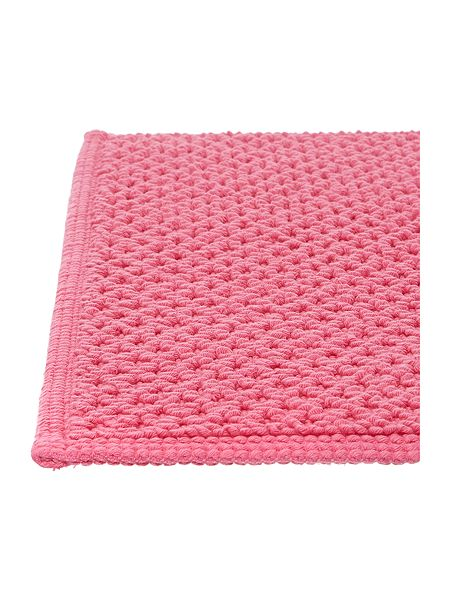 linea reversible bobble bath mat in hot pink house of fraser