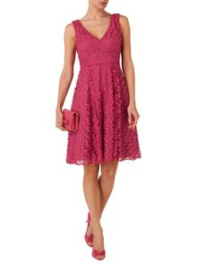 Avalina fit and flare dress