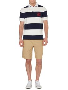 Howick California Block Stripe Short Sleeve Rugby