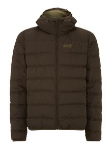Helium down jacket
