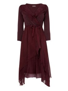 Seraphina silk dress