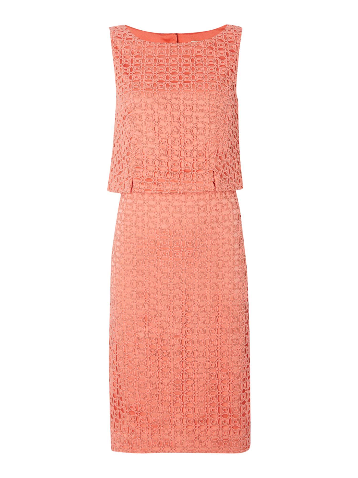 Linea 2 in 1 lace dress, Coral