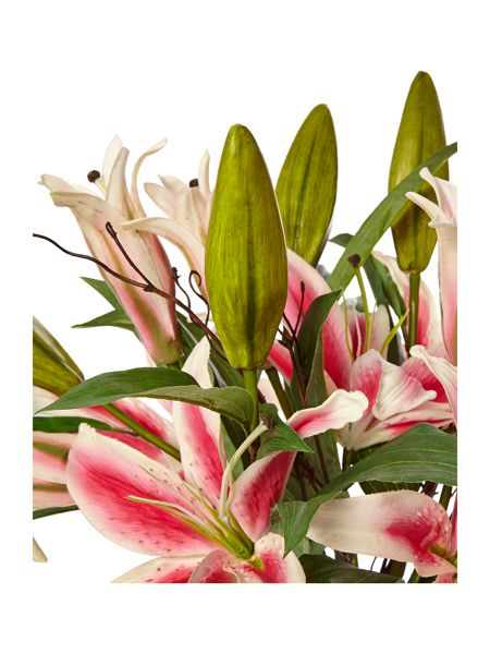 Linea Pink Lillies in vase